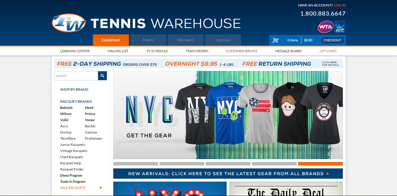 Tennis Warehouse.com
